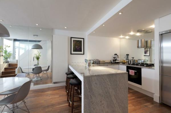 Arbeitsplatte mit Betonoptik küchenarbeitsplatten küchenplatte licht