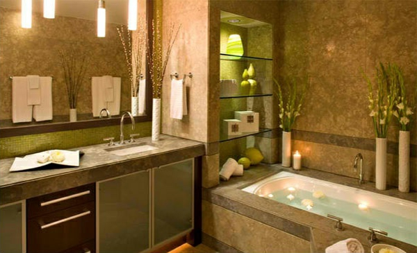 Regal Glas Bad – Nur noch eine weitere Dekorasi-Imageidee
