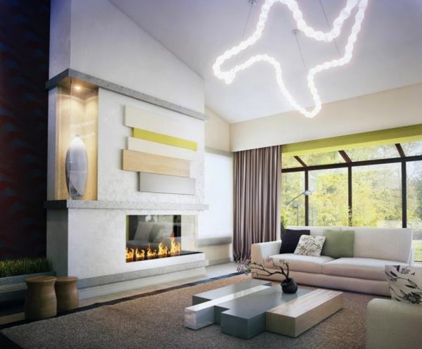 Beispiele für Wohnzimmereinrichtung wohnzimmergestaltung licht