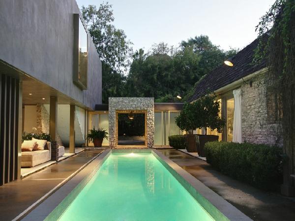 sommerhaus design schwimmbecken pool