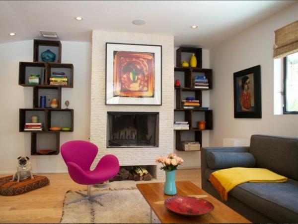 Farbbeispiele fürs Wohnzimmer wandfarben farbgestaltung frisch