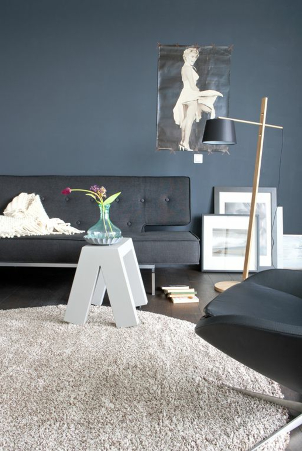 Wohnzimmer wandfarben Farbbeispiele farbgestaltung klassisch