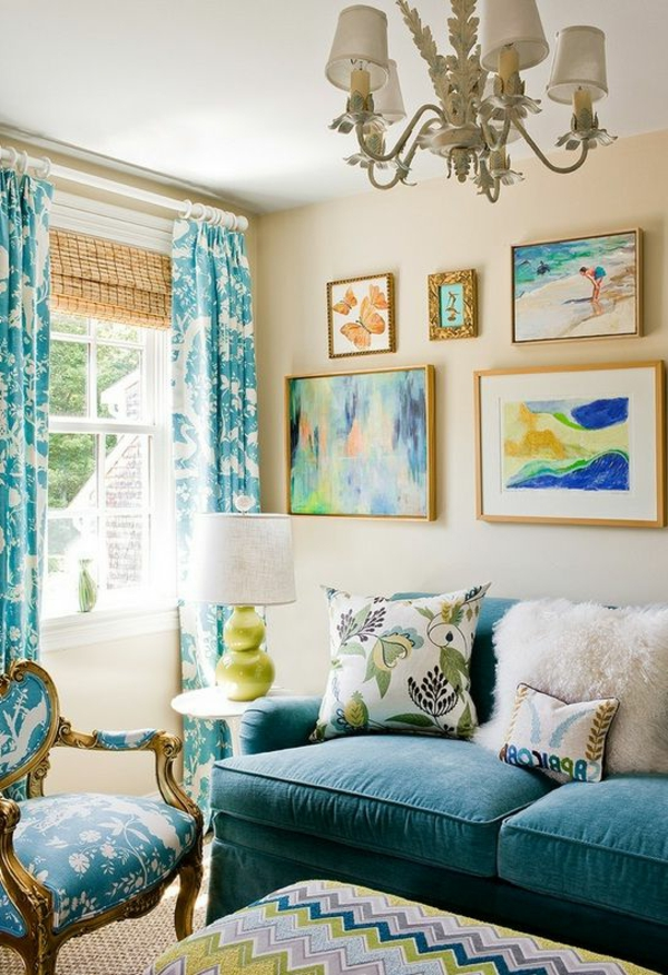 Farbbeispiele fürs Wohnzimmer wandfarben farbgestaltung licht