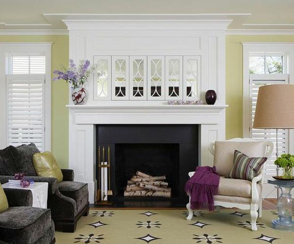 Wohnzimmer wandfarben farbgestaltung schön
