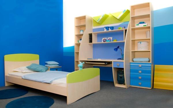 Farbideen für Wände wandgestaltung wohnzimmer kinderzimmer