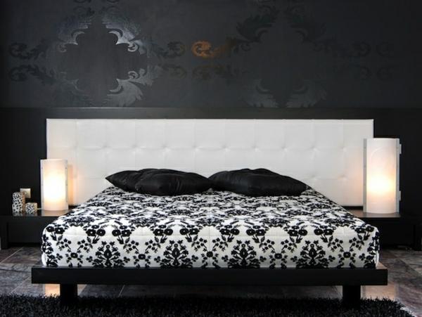 Farbpaletten für Wandfarben schlafzimmer schwarz