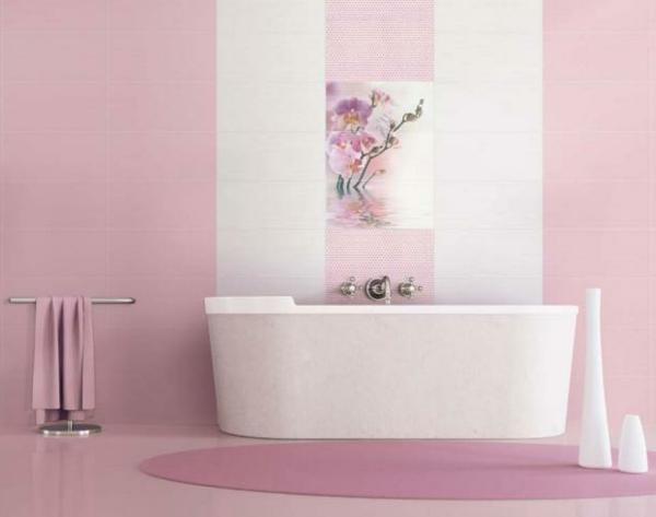 badezimmer rosa fliesen ihr traumhaus ideen. speichern pinkes, Hause ideen