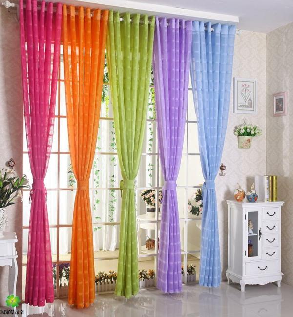 Gardinenvorschläge - Frühlingshafte Vorhänge und Gardinen