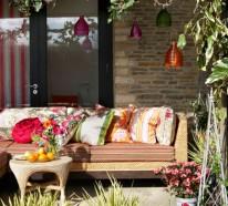 Gartendeko selber machen – farbenfrohe DIY Gartenideen