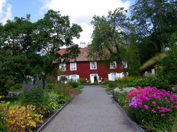 Gartenhaus im Schwedenstil gartenweg