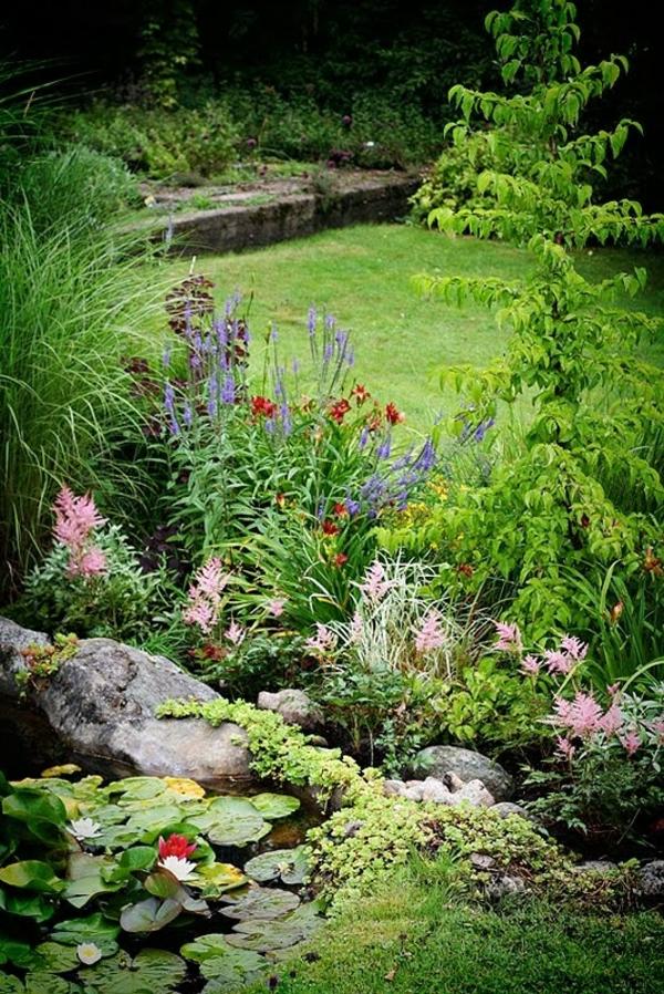 Gartenhaus im Schwedenstil wassergarten