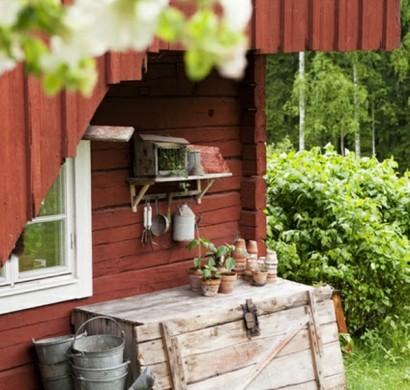 Gartenhaus Im Schwedenstil U2013 Gestalten Sie Eine Thematische Gartenecke!
