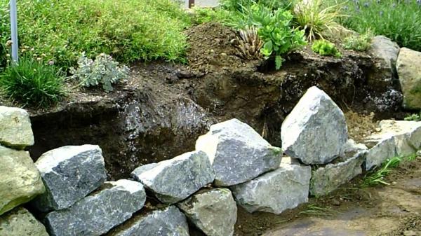 Kräuterhochbeet Gemüse selber bauen stein