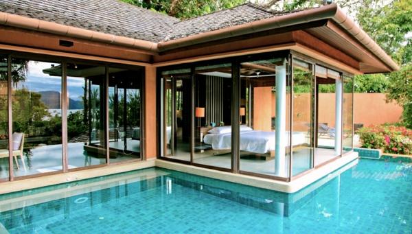 Luxus schlafzimmer mit pool  Pool Im Schlafzimmer ~ Kreative Bilder für zu Hause Design-Inspiration