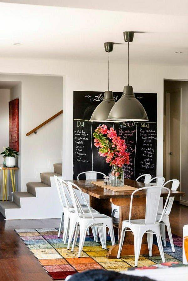Küchenwand gestalten spritzschutz küche treppe
