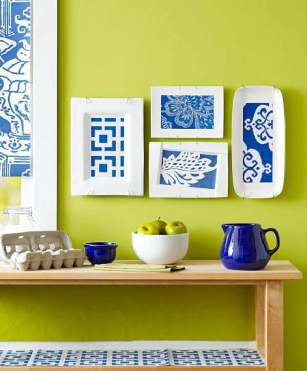 Küchenwandgestaltung – Kreative Wandfarben und Muster für ...