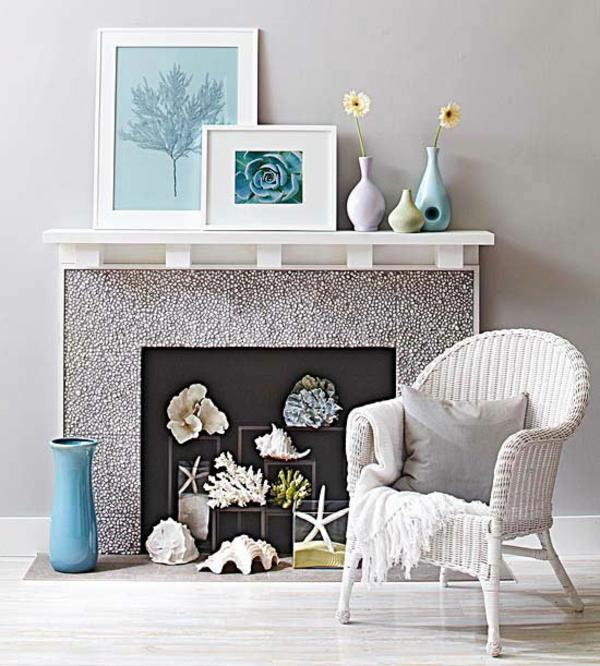 Kamine und Feuerstellen bodenvase deko textur