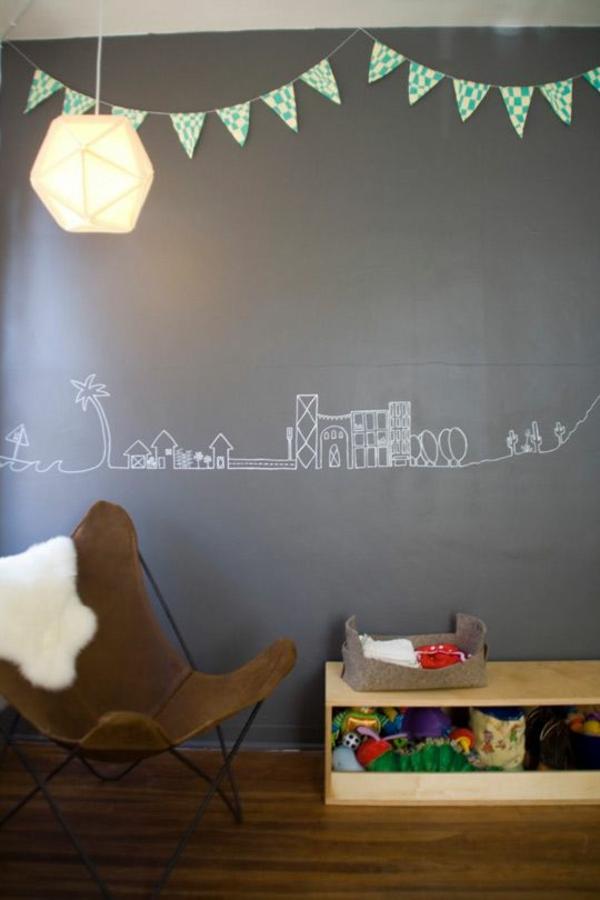 Kinderzimmerw nde gestalten lustige wandsticker und wandtattoos - Girlande babyzimmer ...