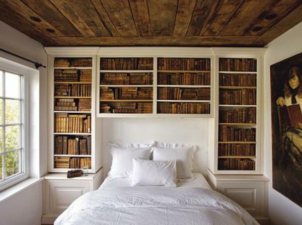 Kopfteile holz Betten bücherregale klassisch schlafzimmer