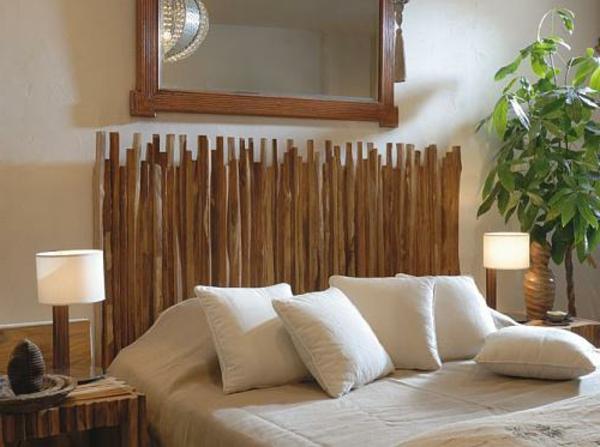 Kopfteile für Betten - coole, eigenartige Designs