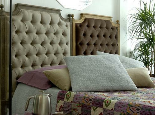 Kopfteile kissen Betten schlafzimmer bettwäsche
