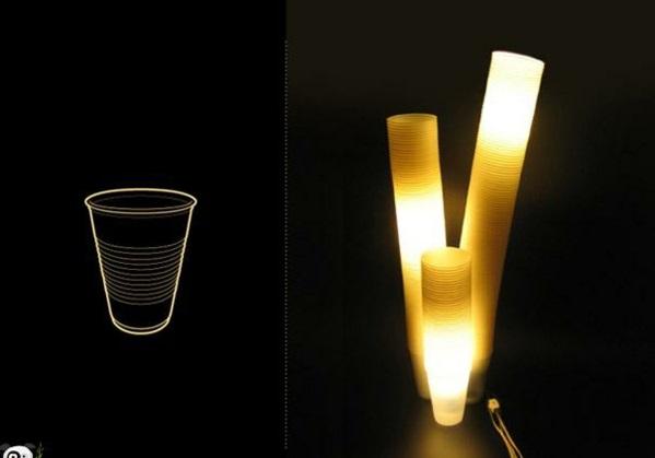 Lampen bechen Design originell idee