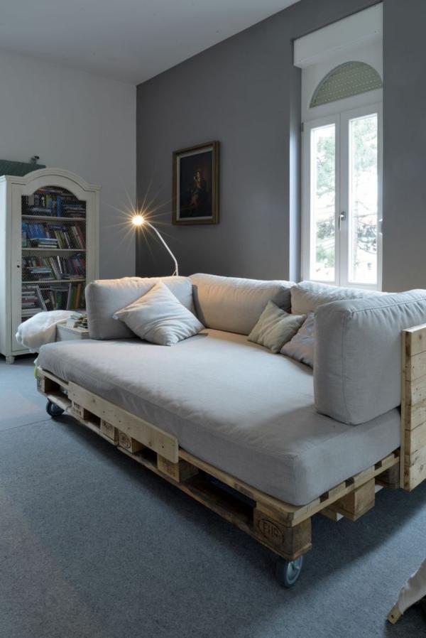 Möbel vertraulich Europaletten sofa auflagen