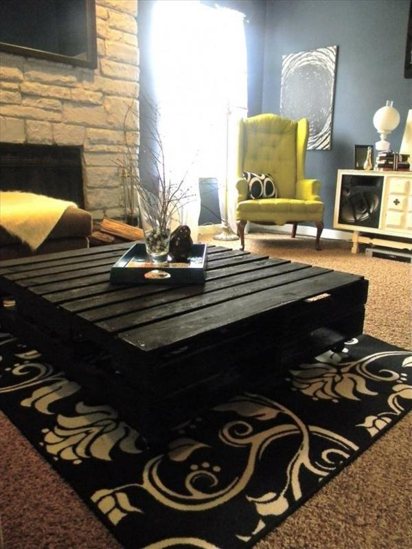 Möbel aus Europaletten teppich