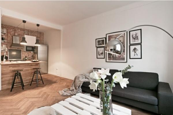 Möbel aus Europaletten wohnzimmer