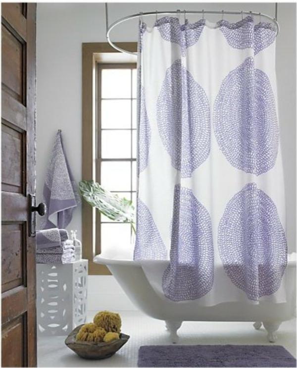 marimekko duschvorhang frische farben und muster im bad. Black Bedroom Furniture Sets. Home Design Ideas