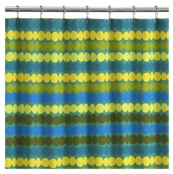 Marimekko-Duschvorhang-streifen-waagerecht-blau