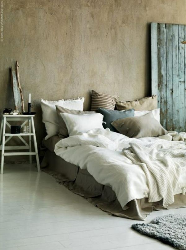 Mediterrane Einrichtungsideen landhausstil möbel schlafzimmer