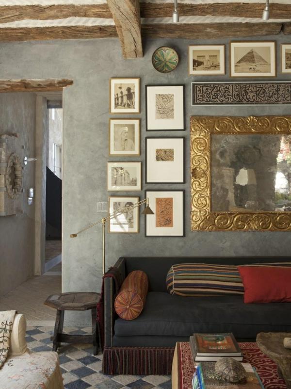 Mediterrane Einrichtungsideen Landhausstil Mbel Wand