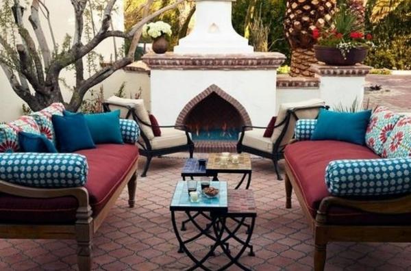 Einrichtungsideen landhausstil möbel sofas