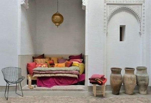 Mediterrane Einrichtungsideen landhausstil möbel texturen