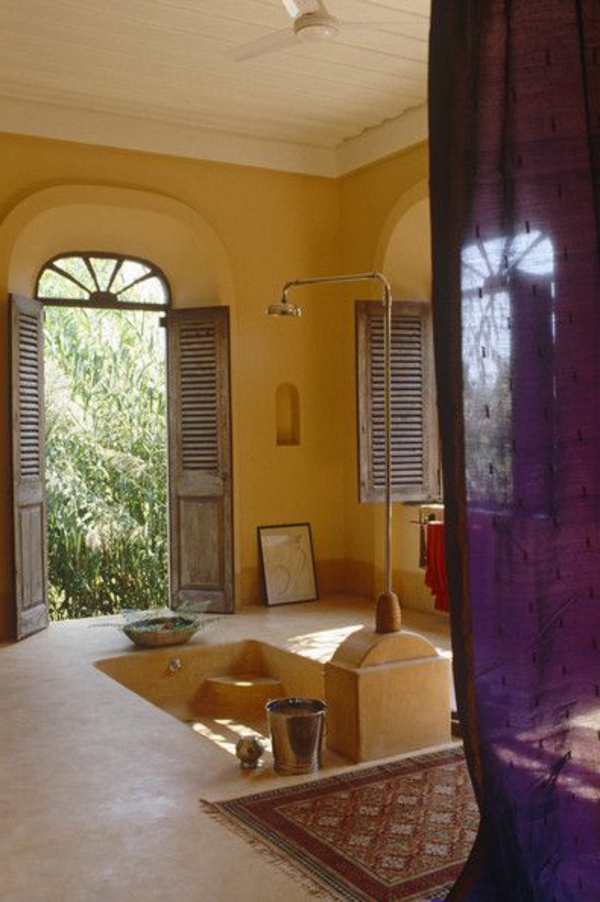 Mediterrane Einrichtungsideen landhausstil möbel wand
