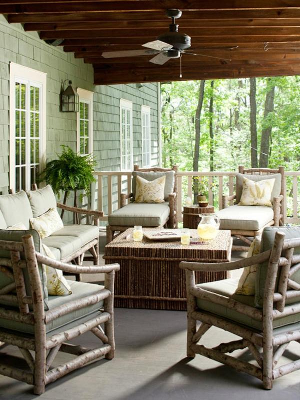 Moderne terrassengestaltung ideen naturholz basteln möbel