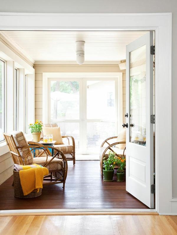 Moderne Terrassengestaltung Ideen möbel bodenbelag holz