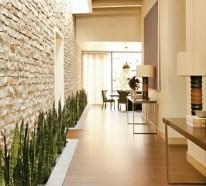 Elegant Facebook Twitter Google+ Pinterest · Natursteinwand Ideen Bodenbelag  Wohnzimmer Wandgestaltung