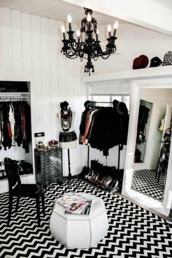 Offene Kleiderschranksysteme begehbarer kleiderschrank hocker weiß