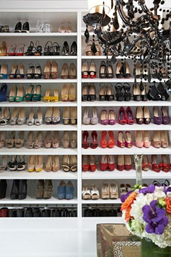 Kleiderschranksysteme begehbarer kleiderschrank regale idee