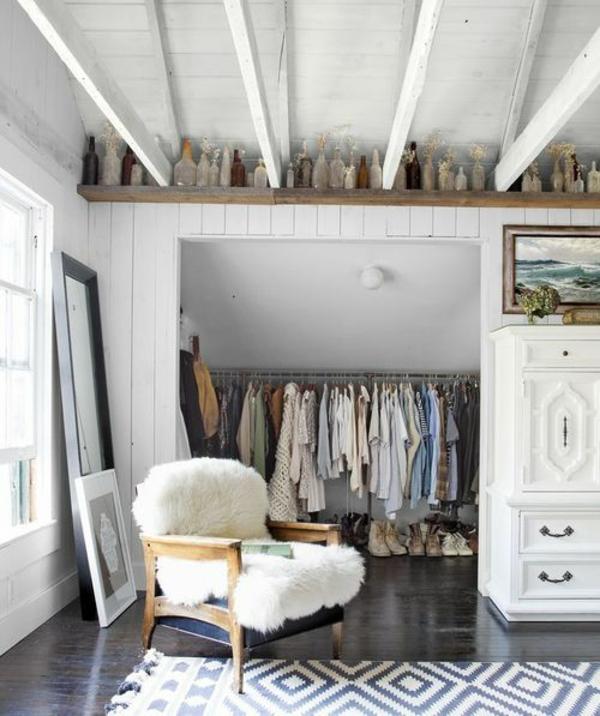 Offene Kleiderschranksysteme begehbarer kleiderschrank sessel