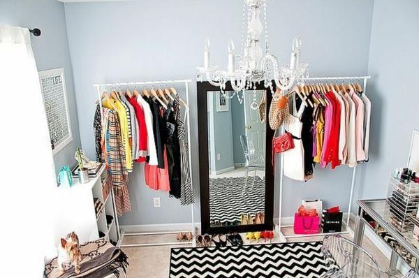 Offene Kleiderschranksysteme begehbarer kleiderschrank spiegel