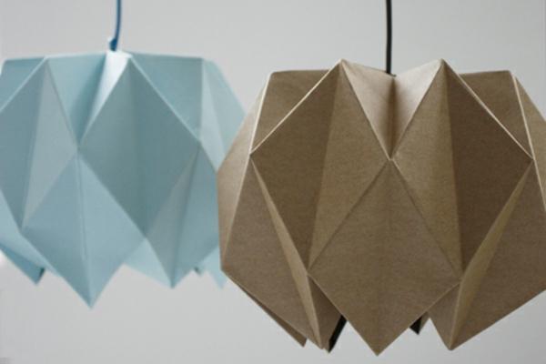 Gut gemocht Origami Lampenschirm - Anleitung für Bastler NI41