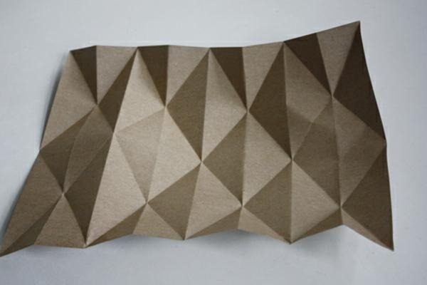 Sehr Origami Lampenschirm - Anleitung für Bastler HJ76
