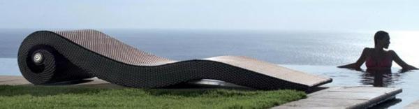 Möbel aus Polyrattan gartenmöbel polyrattan modern