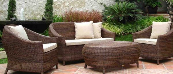 Outdoor Möbel Polyrattan lounge gartenmöbel essecke