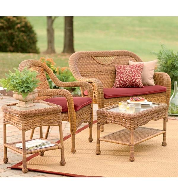 gartenbank kunststoff rattan 111805 eine. Black Bedroom Furniture Sets. Home Design Ideas
