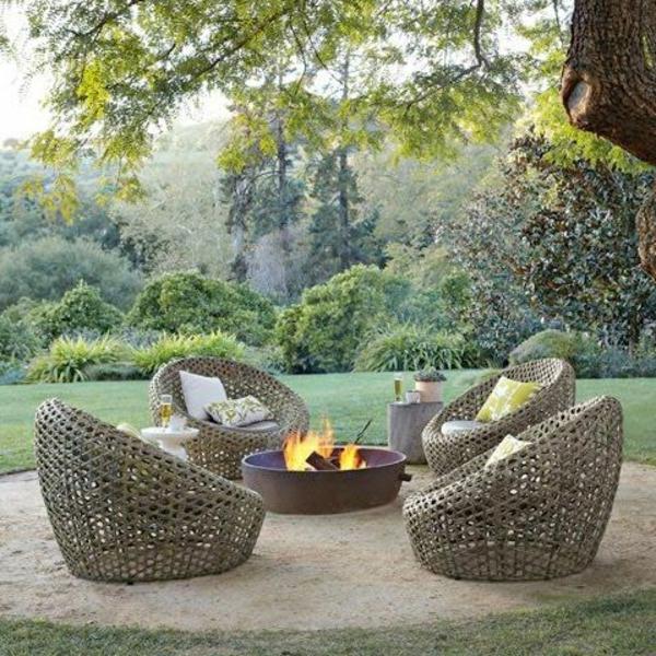 Outdoor Sessel Polyrattan | Möbelideen