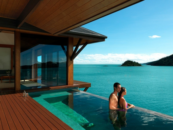 Romantisch Infinity Pool Qualia Resort Australia